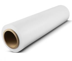 Стретч пленка 1 сорт 500 мм 23 мкм 1,2 кг белая