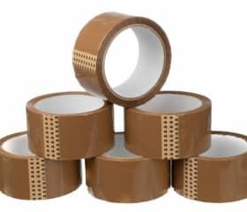 Скотч упаковочный коричневый 50 мм 50 м 50 мкм
