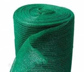 Сетка фасадная 4х100 м 55 г/м2 зеленая