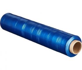 Стретч пленка для паллет 500 мм 17 мкм 2 кг синяя