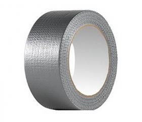 Армированная клейкая лента серая 48 мм х 50 м