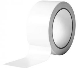 Скотч цветной белый 48 мм 50 м 45 мкм