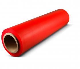 Упаковочная стретч пленка 500 мм 17 мкм 2 кг красная