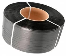 Лента полипропиленовая 15х0,6 мм 1800 м черная