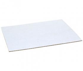 Микрогофрокартон трехслойный бело-бурый 1000х700 мм Т-23, в листах
