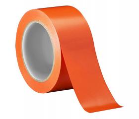Скотч цветной оранжевый 50 мм 50 м 45 мкм