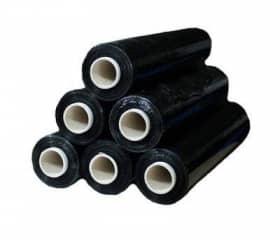 Стрейч пленка 500 мм 20 мкм 2 кг черная