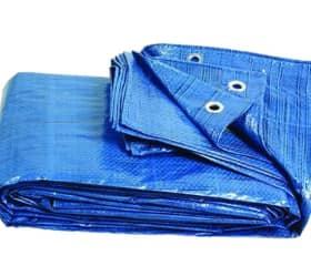 Тент Тарпаулин 10х10 120 г/м2 синий