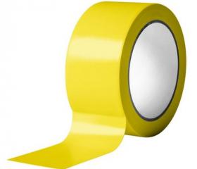 Скотч цветной желтый 50 мм 50 м 45 мкм