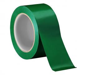 Скотч цветной зеленый 48 мм 66 м 45 мкм