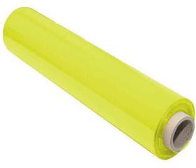 Стретч пленка для ручной упаковки 500 мм 23 мкм 2,2 кг желтая